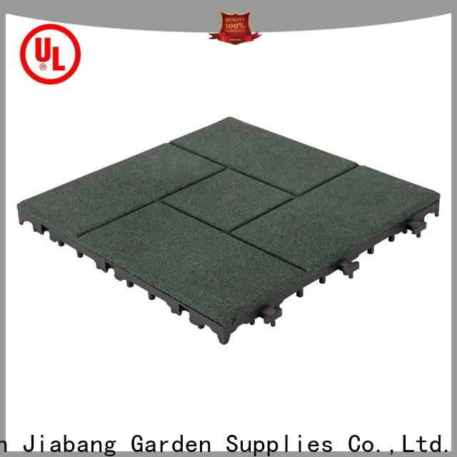 professional rubber mat tiles playground cheap house decoration