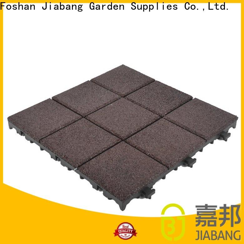 JIABANG composite gym floor tiles interlocking low-cost at discount