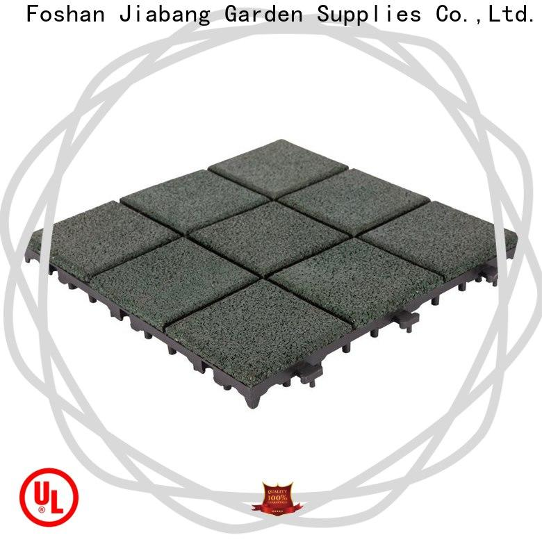 JIABANG playground interlocking rubber tiles for gym light weight house decoration