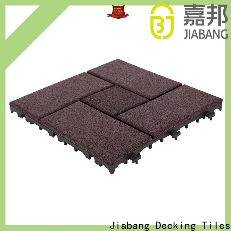 JIABANG playground interlocking rubber gym mats low-cost for wholesale