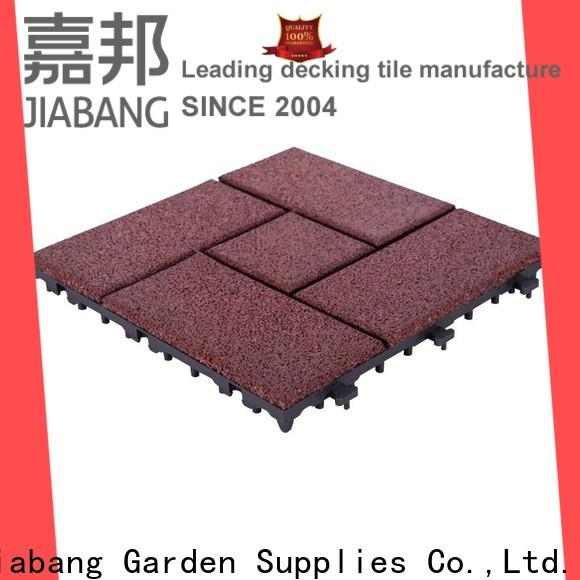 JIABANG highly-rated rubber mat tiles low-cost house decoration