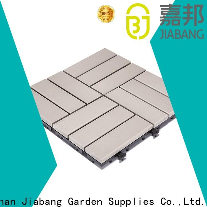 JIABANG outdoor pvc tiles popular gazebo decoration