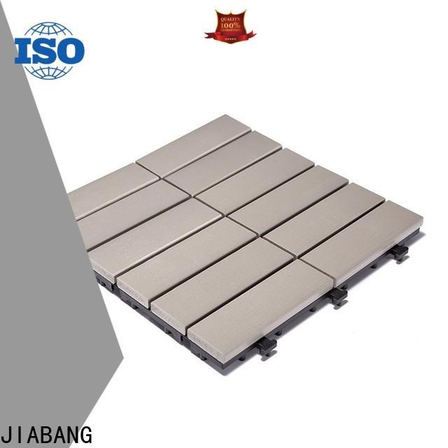 JIABANG hot-sale plastic tiles for outside popular gazebo decoration
