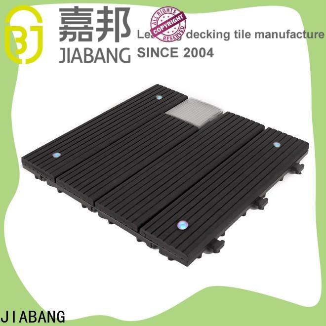 JIABANG eco-friendly square decking tiles home