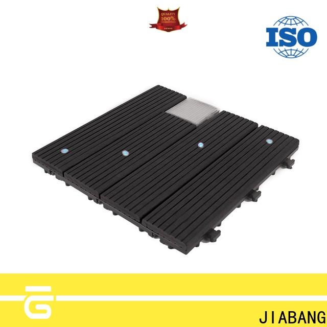 JIABANG eco-friendly solar patio tiles protective ground