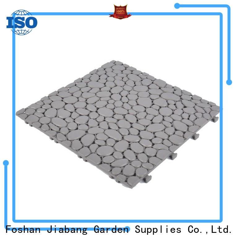 JIABANG protective recycled plastic deck tiles high-quality