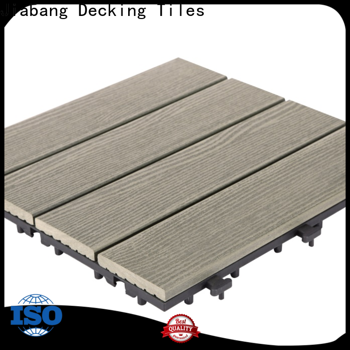 frost resistant interlocking composite wood tiles outdoor at discount top brand