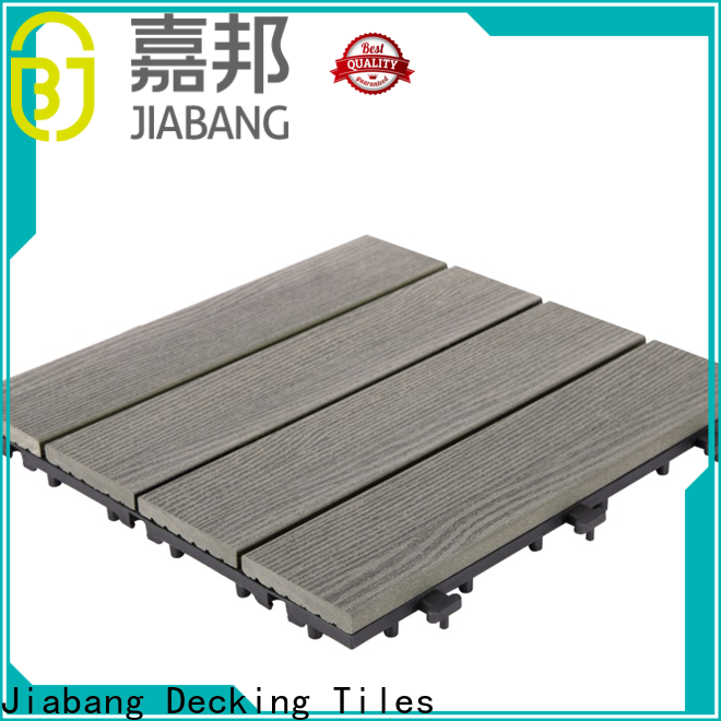JIABANG free delivery composite wood deck tiles hot-sale top brand