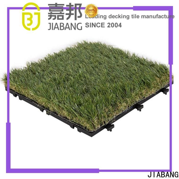 JIABANG artificial grass tiles hot-sale for garden