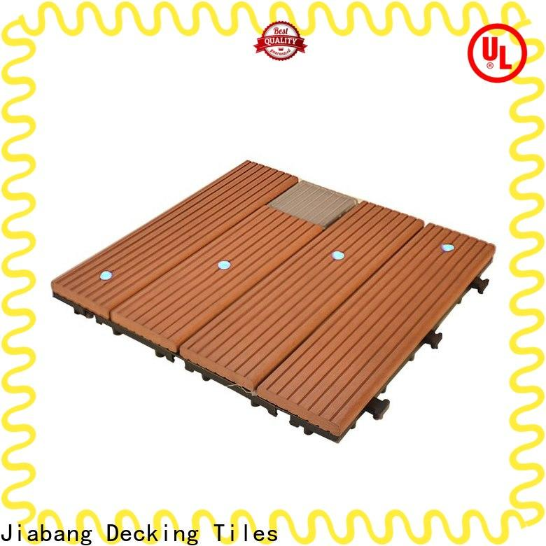 JIABANG led square decking tiles highly-rated garden lamp