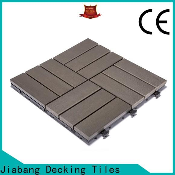 JIABANG high-end outdoor plastic patio tiles high-quality home decoration