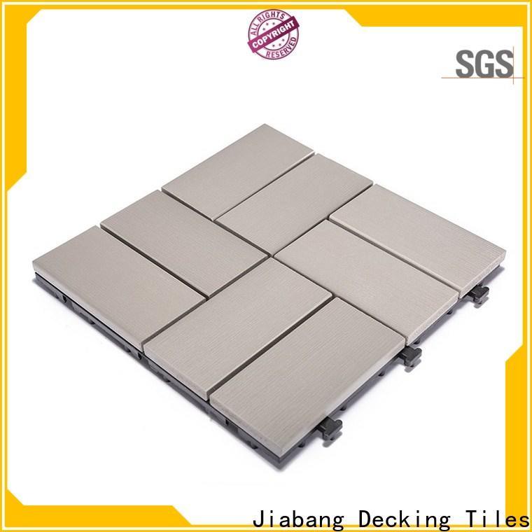 JIABANG pvc plastic patio flooring tile high-quality garden path