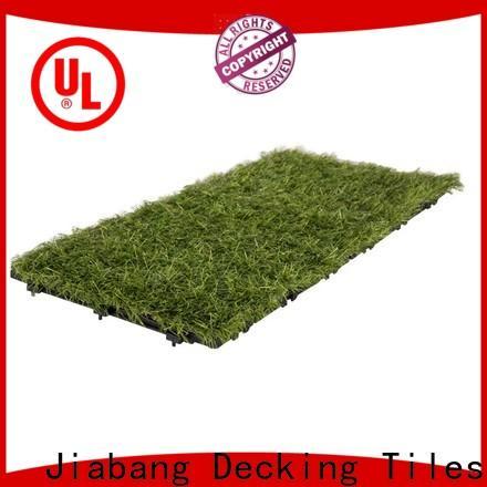 JIABANG wholesale interlock pavers suppliers artificial grass garden decoration
