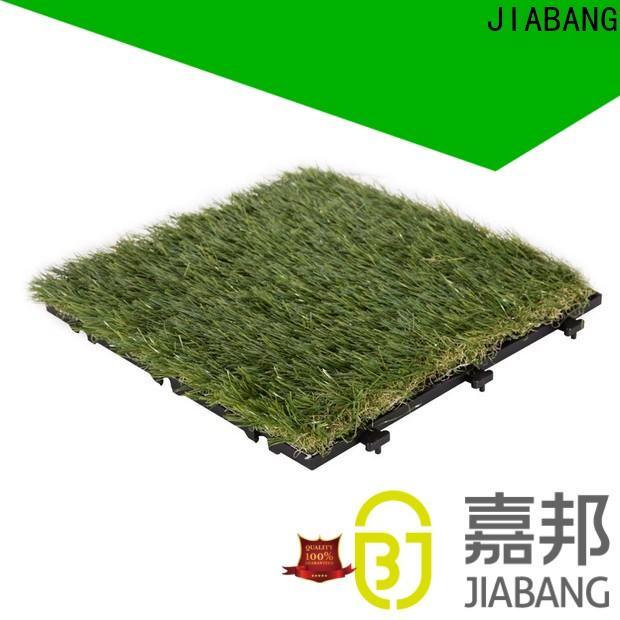 JIABANG fake grass squares top-selling for garden