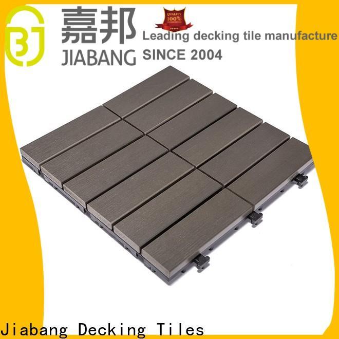 JIABANG light-weight plastic tiles for outside popular garden path