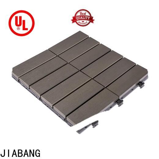 JIABANG high-end plastic interlocking patio tiles high-quality gazebo decoration