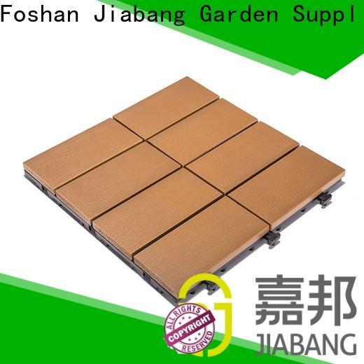 JIABANG light-weight plastic tiles for outside anti-siding gazebo decoration