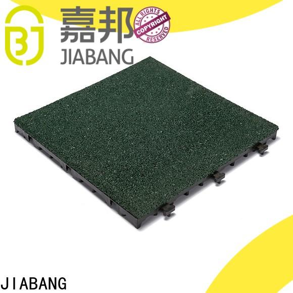 JIABANG composite rubber gym flooring tiles low-cost house decoration