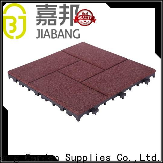 highly-rated rubber gym flooring tiles composite light weight for wholesale