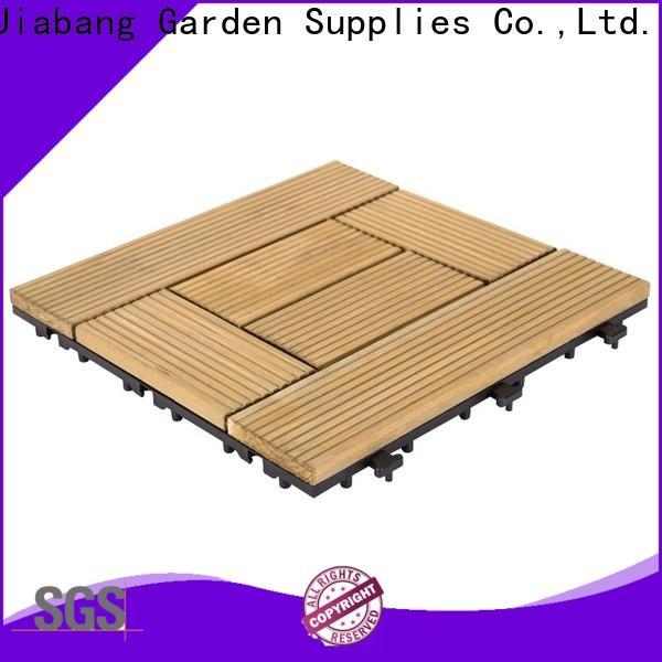 JIABANG outdoor interlocking wood decking wooddeck for garden