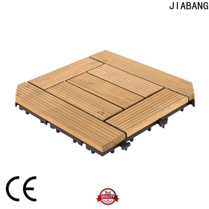 JIABANG interlocking wood floor decking tiles flooringwood wooden floor