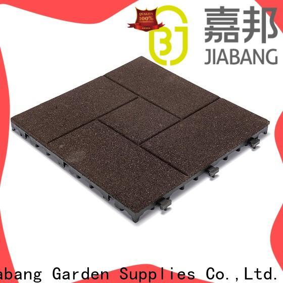 JIABANG playground rubber gym mat tiles light weight house decoration