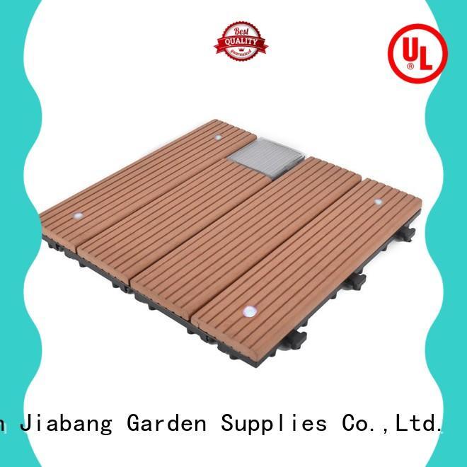 JIABANG eco-friendly balcony deck tiles home