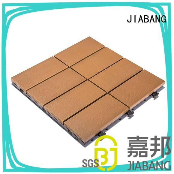 JIABANG hot-sale plastic decking tiles popular garden path