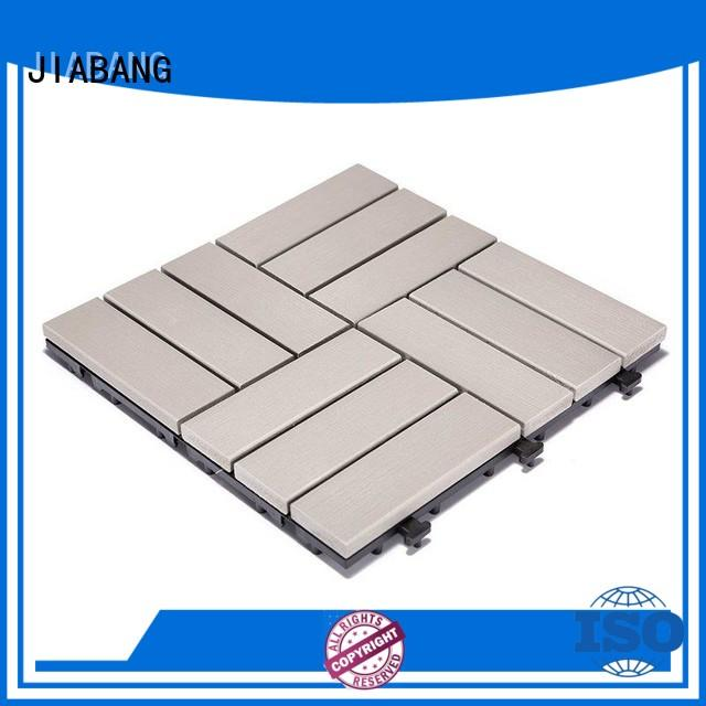 JIABANG high-end outdoor plastic tiles high-quality gazebo decoration