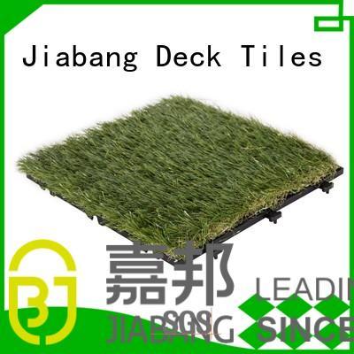 Hot design fake grass squares turf floor JIABANG Brand