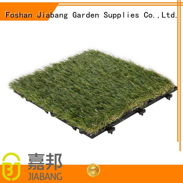 JIABANG artificial turf artificial grass squares easy installation for garden