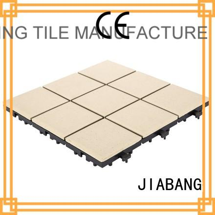Hot stg ceramic interlocking tiles exterior JIABANG Brand