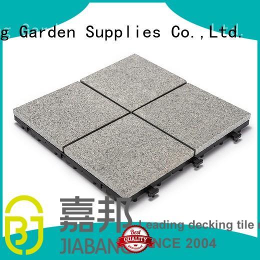 waterproof diy flamed granite floor tiles real JIABANG company