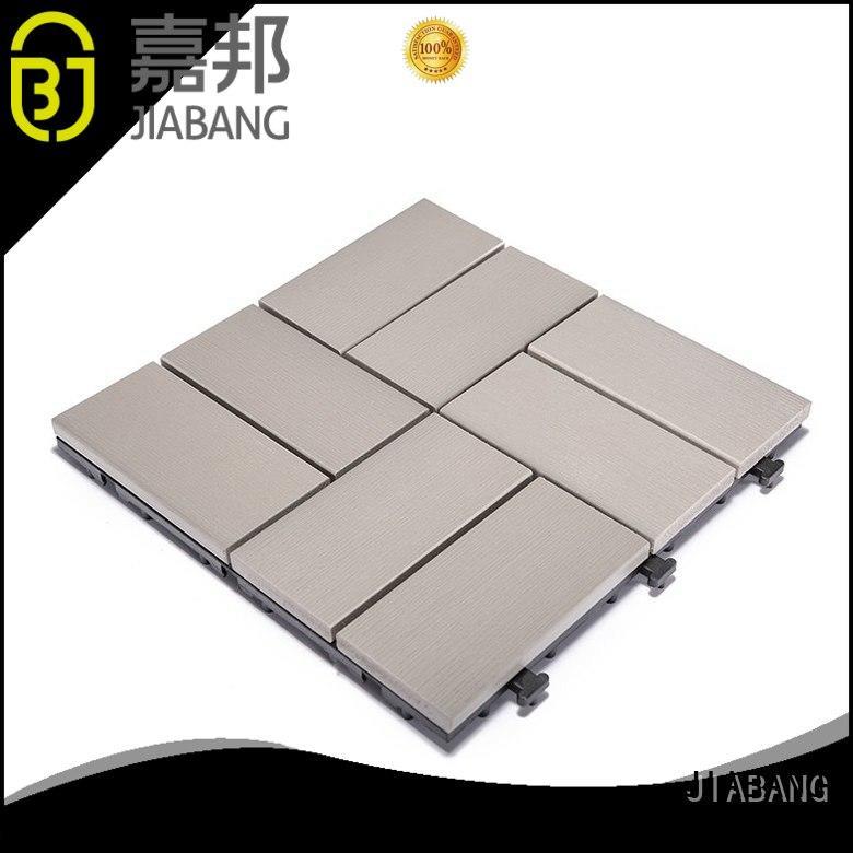 durable outdoor plastic tiles anti-siding home decoration
