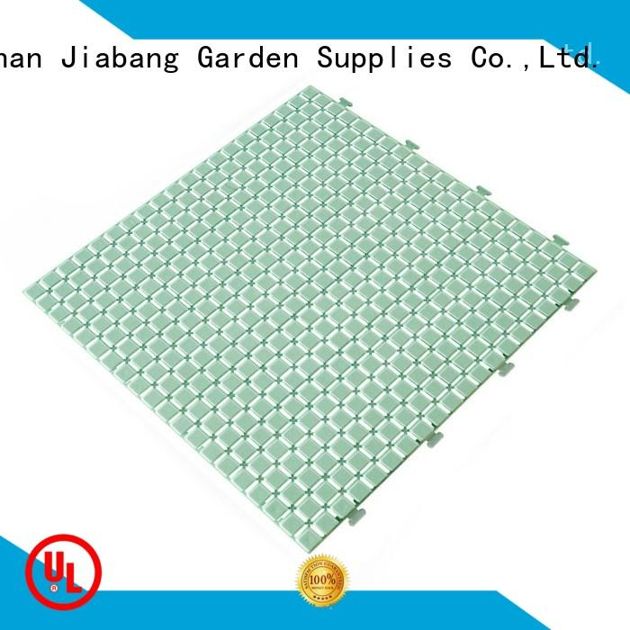 protective plastic interlocking deck tiles bathroom floor top-selling for customization