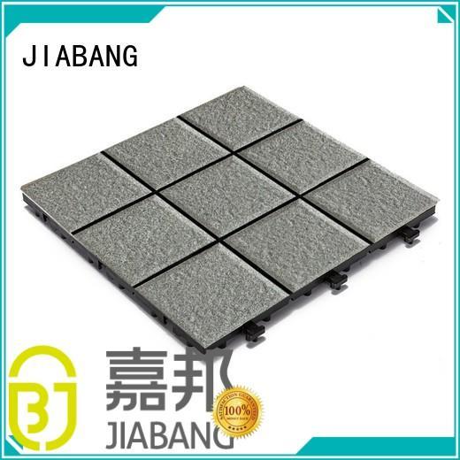 JIABANG exhibition porcelain patio tiles custom size at discount