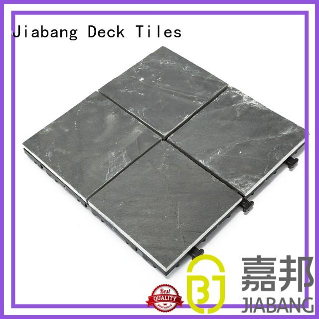 JIABANG waterproofing slate deck basement decoration for patio