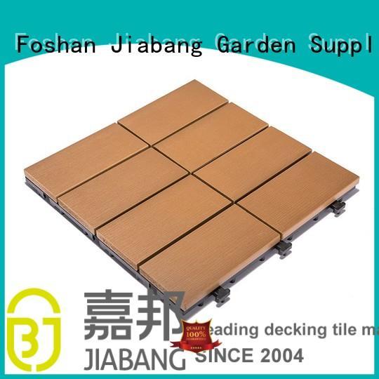 Garden floor woodland plastic deck tiles PS8P30312TKH