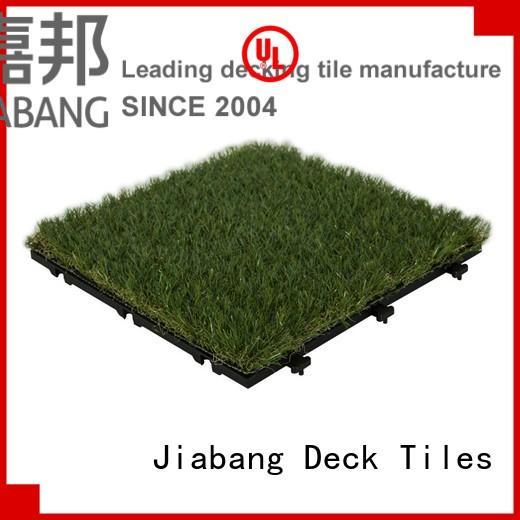 Custom landscape g004green grass floor tiles JIABANG mat