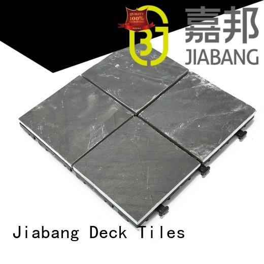 surround stones slate JIABANG Brand outdoor stone deck tiles factory