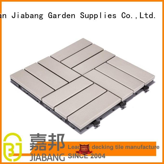 JIABANG outdoor plastic tiles high-quality garden path