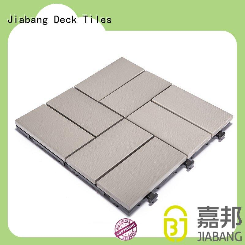hot-sale outdoor plastic tiles hot-sale home decoration JIABANG