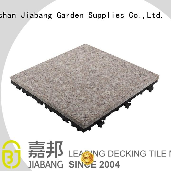 JIABANG highly-rated granite floor tiles factory price for porch construction