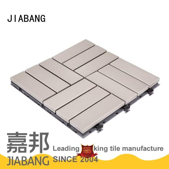 outdoor pvc tiles light-weight garden path JIABANG