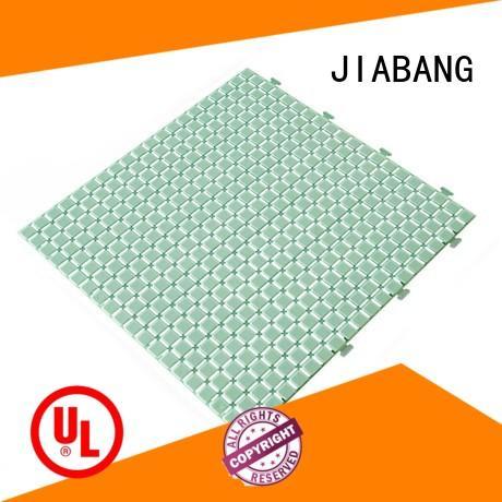 JIABANG hot-sale interlocking plastic patio tiles non-slip kitchen flooring