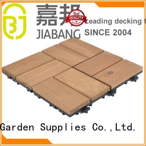 durable wood deck tiles garden low maintenance
