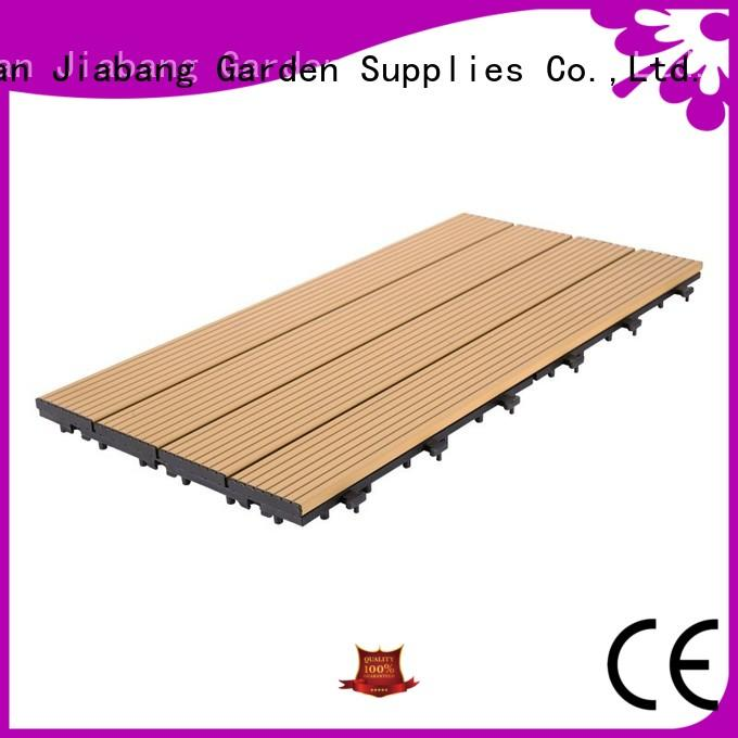 outdoor aluminum deck board metal at discount JIABANG