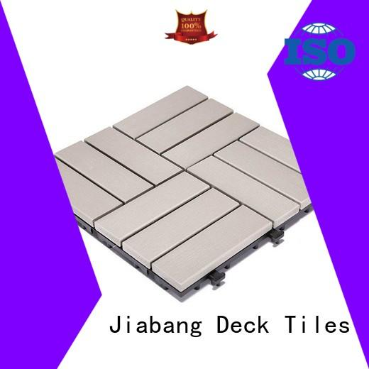 durable plastic decking tiles pvc anti-siding gazebo decoration