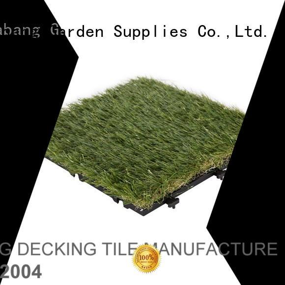 backing tiles outdoor grass tiles garden JIABANG company