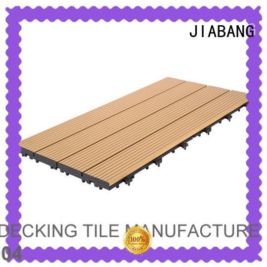 outdoor aluminum deck board modern for customization JIABANG